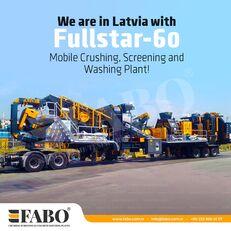 new FABO FULLSTAR-60 Crushing, Washing & Screening  Plant crushing plant