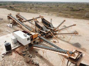 new FABO INSTALLATION DE CONCASSAGE ET CRIBLAGE FIXE 250-350 TPH  crushing plant