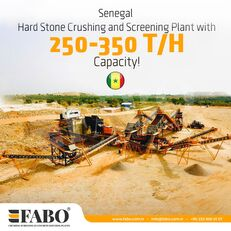 new FABO MACHINE FIXE DE CONCASSAGE CRIBLAGE 200-350 PRET EN STOCK  crushing plant