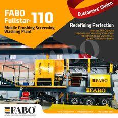 new FABO FULLSTAR 110Crushing, Washing And Screening  Plant mobile crushing plant