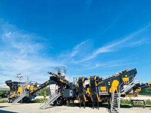 new FABO MCK-95 MOBILE CRUSHING & SCREENING PLANT | JAW+CONE mobile crushing plant