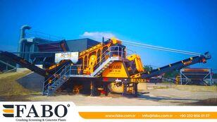 new FABO MEY-1645 mobile crushing plant