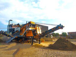 new FABO MEY-1645  INSTALLATION MOBILE DE CRIBLAGE ET DE LAVAGE DU SABLE mobile crushing plant