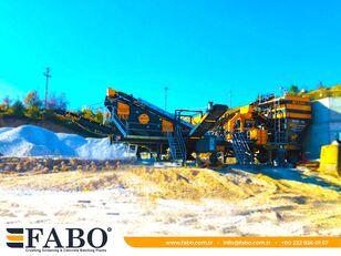 new FABO MVSI 900 MOBILE VERTICAL SHAFT IMPACT CRUSHING SCREENING PLANT mobile crushing plant