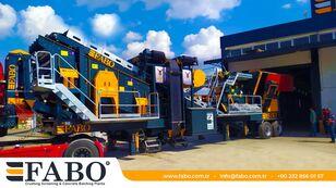 new FABO PRO 90 MOBILE CRUSHING&SCREENING PLANT | 90-130 TPH mobile crushing plant