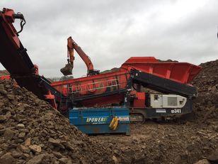 SANDVIK QE341 mobile crushing plant